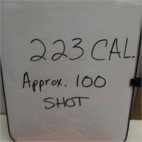 223 CAL/Approx. 100 Shot