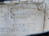 (DMV) 1985 Kalyn 10' Concession Trailer
