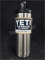 Yeti 18Oz Stainless Steel Rambler Bottle