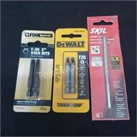 (3) Drill Bits