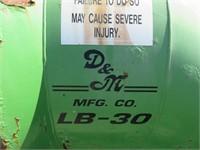 3pt. D & M PTO Berm Blower