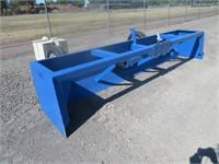 12' Industrias America Hydraulic Box Scraper