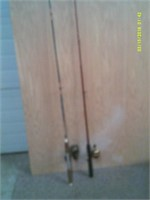 2 Spin Cast Rods And Reels