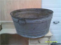 23 inch Diameter SMP Quality Metal Wash Tub
