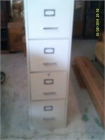 4 Drawer Metal Lettersize File Cabinet
