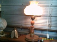 Beautiful Table Lamp With Wooden Base