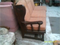"""Decorative Couch - 76 """" Long"""