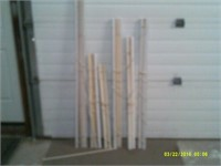 6 Plastic one inch Horizontal Blinds