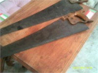2 Hand Saws - 28 to 30 inches long