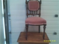 Beautiful Rose Upholstered Parlour Chair