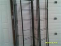 3 Folding Panels Dressing Screen - No Fabric