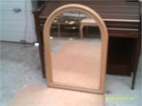 Decorative Wooden Mirror - 40 x 27.5