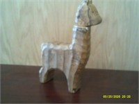 Handcrafted Wooden Llama - From Phillipines