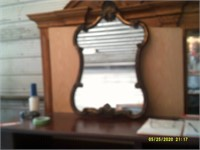 Ornate Heavy Wall Mount Mirror