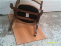1950s Spanish Revival Style Chair