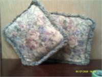 2 Ornate throw Pillows