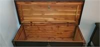 Beautiful Antique Cavalier Cedar Trunk