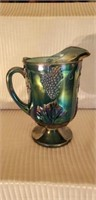 Indiana Glass Blue Carnival Large Pitcher