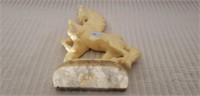 Stunning Vintage Italian Marble Horse
