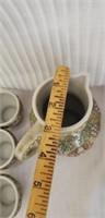 Beautiful Brazil Ceramaric tea set