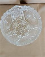 Beautiful Pressed Glass Bowl