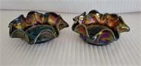 Beautiful Pair of Imperial Grape Pattern Bowls