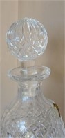 Stunning Alana Pattern Waterford Crystal Decanter