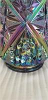 Beautiful Fenton carnival glass Pitcher set