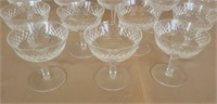Waterford Crystal set of 12 Alana glasses