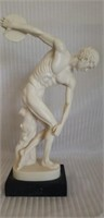 Santini italian style alabaster sculpture