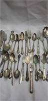 Misc patterns of silverware