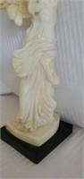 Nike Of Victory Greek Goddess Alabaster Statue