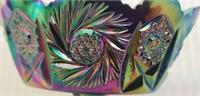 Beautiful Fenton carnival glass decorative piece