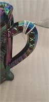 Beautiful Fenton amethyst carnival glass decor
