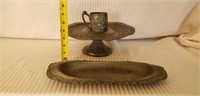 Estate lot of Vintage Silverplate 3 Pieces