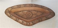 Awesome Hand Carved Wooden German Bowl