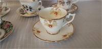 Lot of 5 Vintage Cup & Saucers