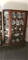 Beautiful 19th Century Oak Display Cabinet