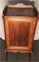 Beautiful Vintage Mahogany Record Cabinet