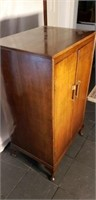 Stunning Large Vintage MCM Record Cabinet