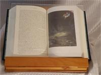 Adjustable Wood Book Display with Don Quixote