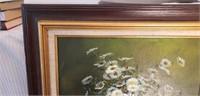 Nancy Lee Oil on Canvas Flower Bouquet