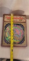 Indiana Carnival Glass Plate in Box