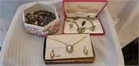 Estate Lot Misc. Vintage Costume Jewelry
