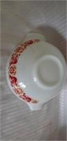 Lot of 2 Vintage Pyrex Bowls Birds Pattern