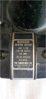 Vintage Featherweight Singer Sewing Machine in Box