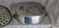 Wagner Large Vintage Magnalite Stainless Roaster