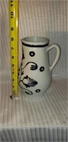Williamsburg Handcrafted Pottery Pitcher