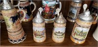 Misc. Shelf Estate lot Clock Collectibles & More
