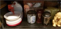 Estate Cabinet lot Household & Collectibles #2